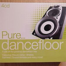 4CD NEW - PURE DANCEFLOOR - Pop Music 4x CD Album - Usher Shakira Faithless Pink