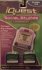I Quest Social Studies Cartridges Grade 6-8 Learning Test Reviews