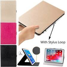 """For iPad Mini Air 4 Pro 5/6th 7th Gen 10.2"""" Soft Leather Smart Stanf Cover Case"""
