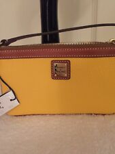 Dooney & Bourke Wristlet Dandelion Leather NWT