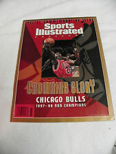 Sports Illustr. Special Issue Crowning Glory Chicag Bulls 1997-1998 NBA Champion