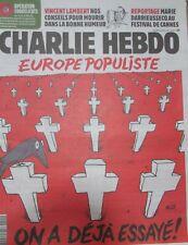 CHARLIE HEBDO N° 1401 de MAI 2019 EUROPE POPULISTE ON A DÉJÀ ESSAYÉ  !