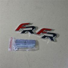 FR Metal Front Engine Grille Emblem + Rear Drive Decal Badge Sticker seat leon