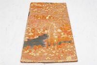 HX200015 [175inch] Vintage KIMONO Long Fukuro OBI Silk art woven Tokyo JAPANese