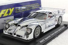 FLY E61 PANOZ ESPERANTE GTR1 ESPANA SPECIAL CHROME EDITION NEW 1/32 SLOT CAR