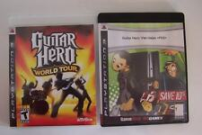 Playstation 3 Guitar Hero & Van Halen PS3 Video Game Lot