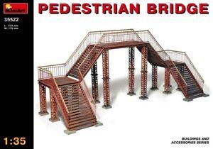Miniart 1:35 Pedestrian Bridge Model Kit