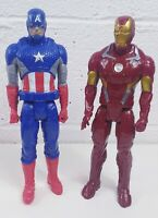 Hasbro Captain America Iron Man Action Figures Toys Marvel Kids