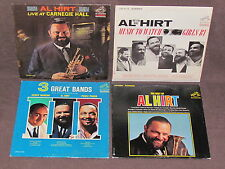 AL HIRT 4 LP RECORD ALBUMS LOT COLLECTION TRUMPET Best Of/Carnegie/Watch Girls
