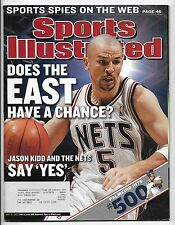 May 19, 2003 Sports Illustrated Magazine-Jason Kidd Cover!