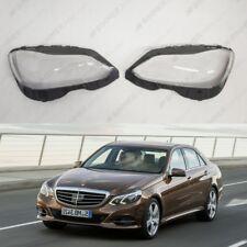 New OEM Headlight Glass Headlamp Lens Cover (PAIR) Mercedes-Benz E W212 Facelift