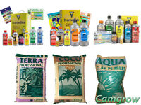 HESI Starter Pack Kits - Soil,Coco or Hydro with CANNA Terra, Coco or Aqua Clay