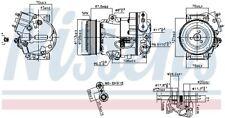 Kompressor, Klimaanlage NISSENS 890266