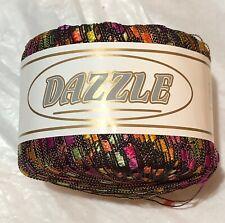 KFI Knitting Fever Dazzle Yarn #5092 Loom Knit Crochet FS Offer