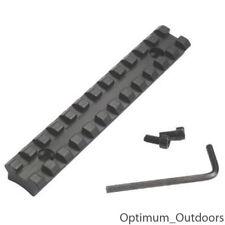 12 Slot 125mm x 20mm Weaver / Picatinny Rail Gun Rifle Airgun Shotgun Airsoft UK