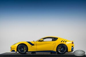 1/18 BBR FERRARI F12 TDF YELLOW and Blue Carbon🤝ALSO OPEN FOR TRADES🤝