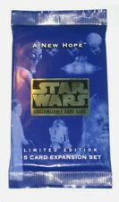 Star Wars CCG: A New Hope Limited Edition Booster Sealed Stocking Secret Santa