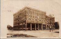 Claycenter Kansas~Bonham Hotel~Basement Barber Shop~Laundry~1907 RPPC