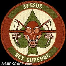 USAF 33RD EXPEDITIONARY SPECIAL OPERATIONS SQ - Cannon AFB, NM - ORIGINAL PATCH