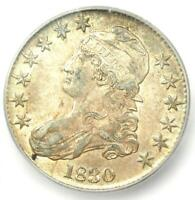 1830 Capped Bust Half Dollar 50C Coin - Certified ICG MS61 (BU) - $1,120 Value!
