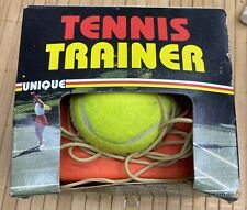Vintage Tennis Trainer with Non Skid Metal Base Nib Unique Sports Products