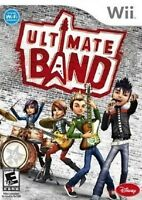 ULTIMATE BAND             -----   pour WII