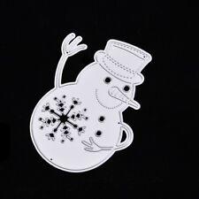 Christmas Snowman Cutting Dies Stencil DIY Scrapbook Embossing Paper Card Decor