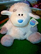 """*MY BLUE NOSE FRIENDS* LARGE 10"""" COTTONSOCKS! SHEEP! NEW WITH TAGS!"""