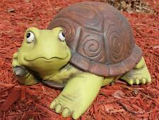 Turtle Statue Sculpture Figurine Yard Pond Whimsical Garden Statue Reptile New