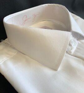WHITE PLAIN COLLAR SHIRTS