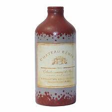 Vase Blumenvase Dekogefäß VINTAGE CHATEAU Shabby braun grau Loft Industrial 22cm