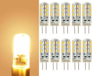 10Pc G4 LED Light Capsule 3W 24*3014SMD Replace Halogen Lamp Warm White Bulb Lot