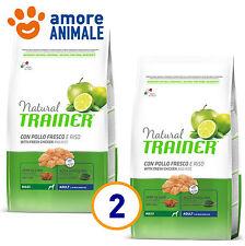 2 SACCHI - Trainer Natural Adult Maxi Manzo e Riso 12 kg