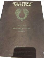 Vintage 1970 Sheet Music 'Jesus Christ Superstar' Musical Complete Libretto
