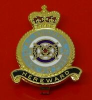 RAF Museum Royal Air Force Enamel Pin Badge No II 2 Squadron Hereward
