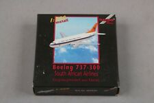 ZF1516 Herpa 1/500 avion miniature metal 500326 Boeing 737-300 South Africa Air