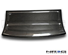 NRG Black Carbon Fiber Interior Deck Lid 96-00 Honda Civic HB Part# CARB-IL-110