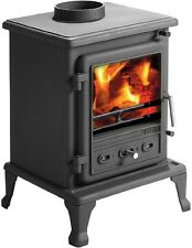 Firefox 5 Stove Cast Iron Multifuel Stove (Non Defra Approved) - free gloves