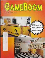 GameRoom Magazine Bob Elliott Pinball  April 1995