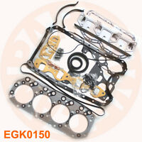 NEW ISUZU 4JB1 ENGINE OVERHAUL GASKET KIT SET SKID LOADER BOBCAT PICKUP NPR