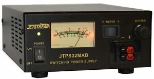 Jetstream JTPS32MAB 13.8VDC Power supply, 25A Cont, 30A Surge w/ Meters
