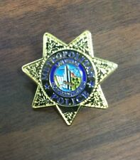 LAS VEGAS METROPOLITAN POLICE MINI-BADGE / LAPEL PIN