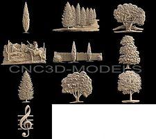 3D STL Models for CNC Router 3D Printer Artcam Vetric aspire...1152