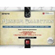 Topps Museum Soccer 2018-19 Bundesliga Football Trading Cards Autograph