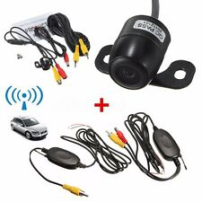170° Night Vision Car Rear View Reverse Camera Wireless RCA Transmitter Receiver