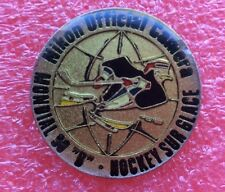 Pins HOCKEY SUR GLACE MONDIAL 90 Sponsor NIKON Official Camera Appareil Photo