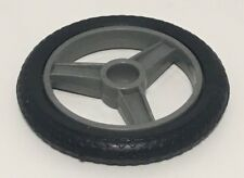 GI Joe 1985 Silver Mirage Motorcycle Vehicle Part Unbroken Small Wheel Rim Tire