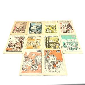 Tellus Bogen 10 Ausgaben A1-A10 1956-57