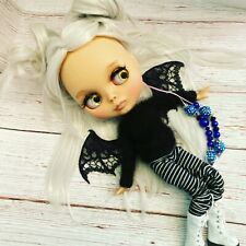 Custom Blythe Doll - Us seller Platinum Blonde Blythe Doll