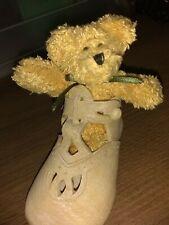 Boyds Bears Resin Krissy Blessed Christening Resin & Plush Baby Teddy 641006
